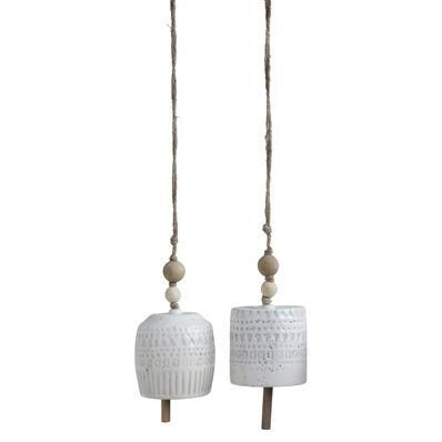 Bloomingville Stoneware Bell Wall Deco