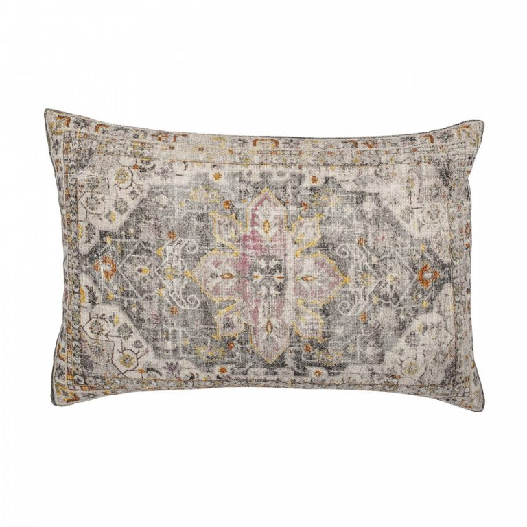 Bloomingville Printed Cotton Cushion 82045722