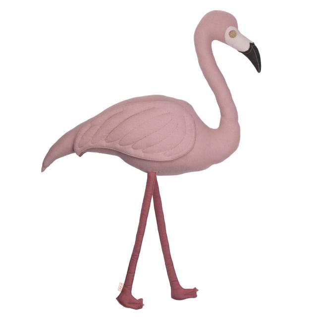 Numero 74 Cushion Polly Flamingo Dusty Pink