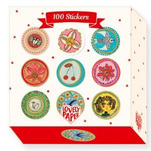 Djeco Aurelia 100 Stickers Box