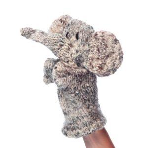 Kenana Knitters Hand Puppet Elephant