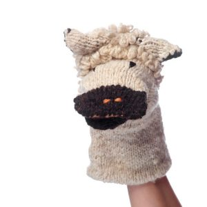 Kenana Knitters Hand Puppet Sheep