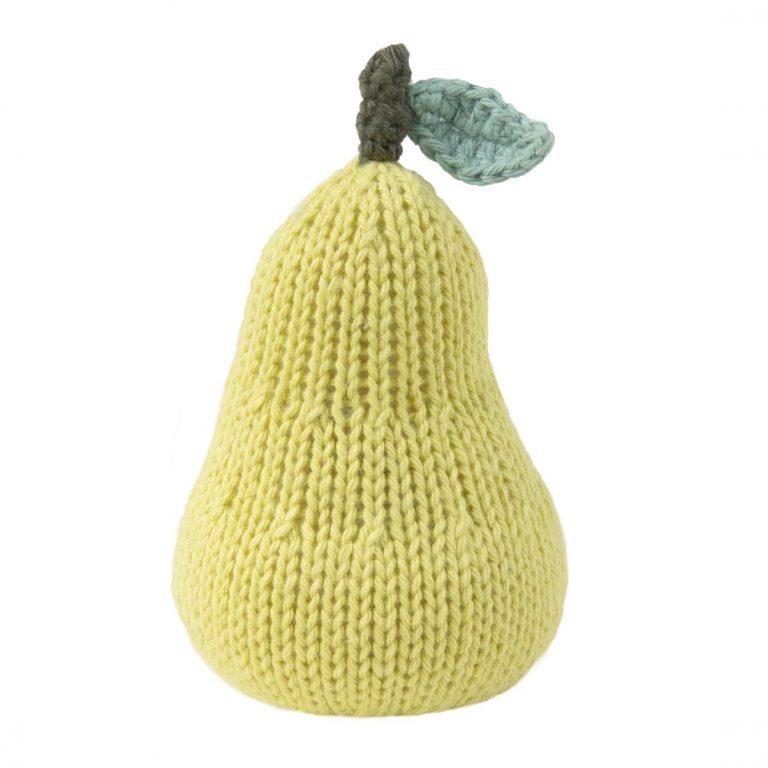 Blabla Kid Fruit Rattle Pear