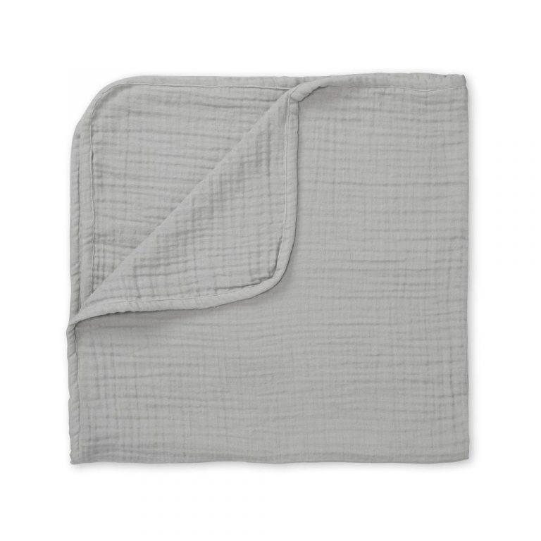 Cam Cam Copenhagen Organic Blanket Muslin 4 Layer Grey