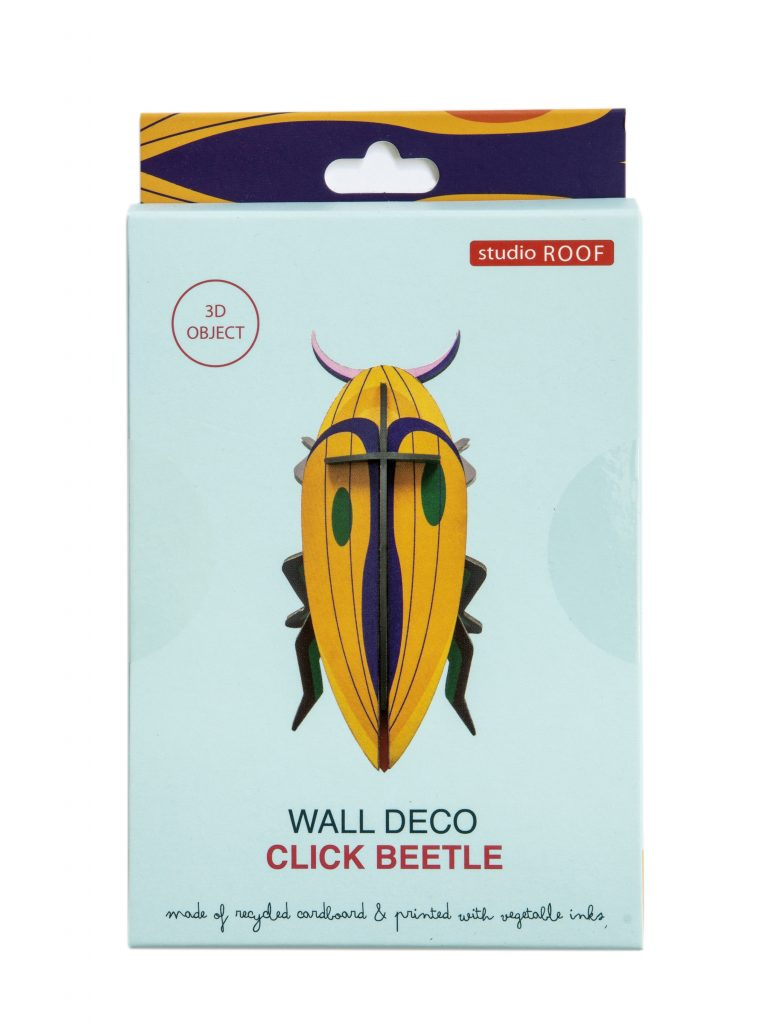 Studio Roof Wall Decoration Puzzle Click Beetle
