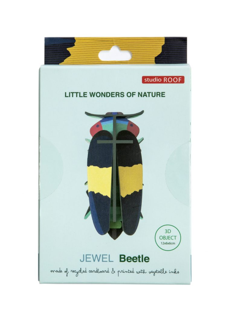 Studio Roof Wall Decoration Puzzle Jewel Beetle