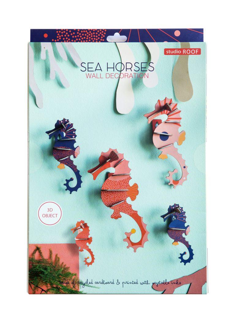 Studio Roof Wall Decoration Puzzle Sea Horses
