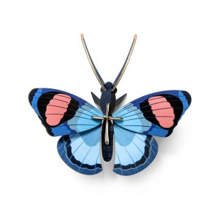Studio Roof Wall Decoration Puzzle Peacock Butterfly