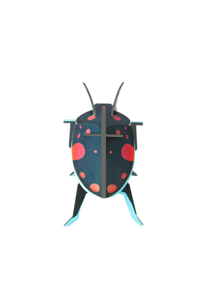 Studio Roof Wall Decoration Puzzle Lady Beetles