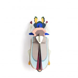 Studio Roof Wall Decoration Puzzle Tiger Beetle
