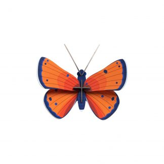 Studio Roof Wall Decoration Puzzle Copper Butterfly