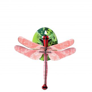 Studio Roof Wall Decoration Puzzle Pink Dragonfly