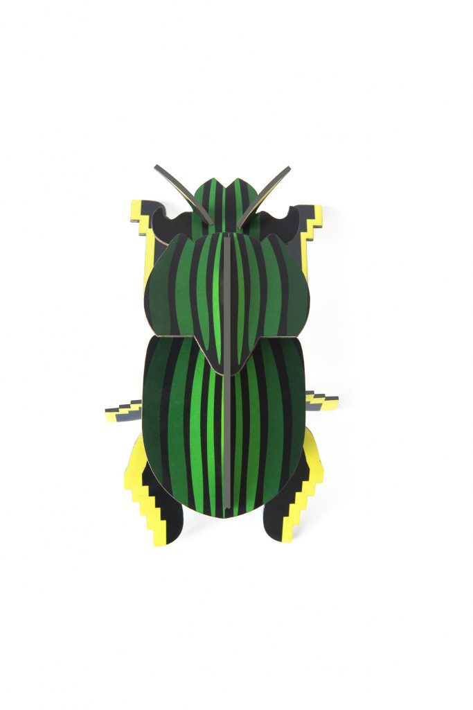 Studio Roof Wall Decoration Puzzle Scarab Beetle