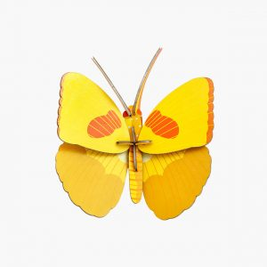 Studio Roof Wall Decoration Puzzle Yellow Butterfly