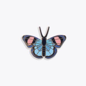 Studio Roof Fashion Pin Peacock Butterfly