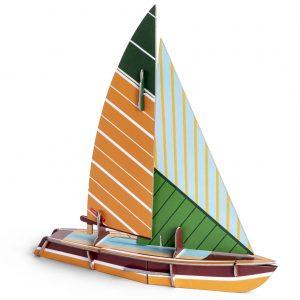 Studio Roof Cool Classic Boat Sailboat