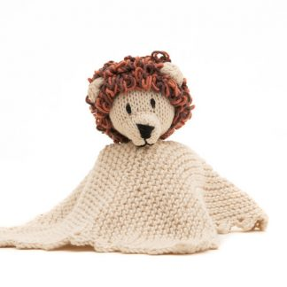 Kenana Knitters Organic Cotton Comforter Lion