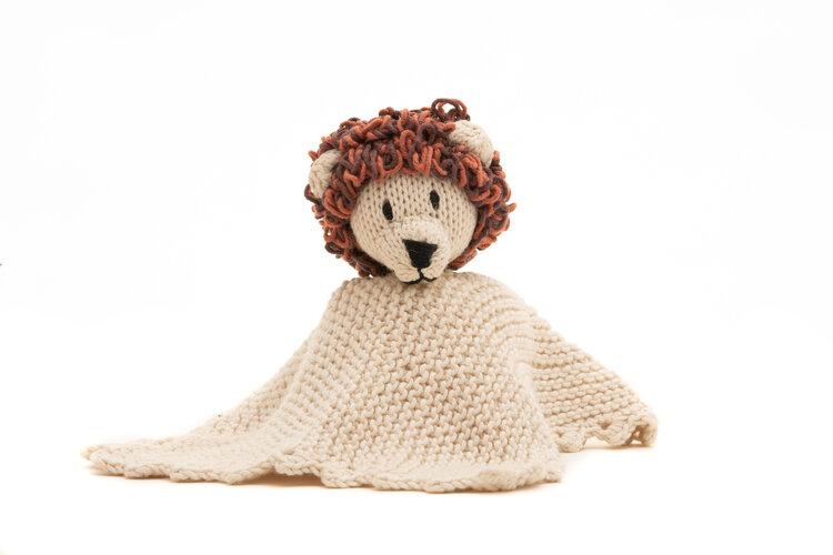 Kenana Knitters Organic Cotton Comforter Lion