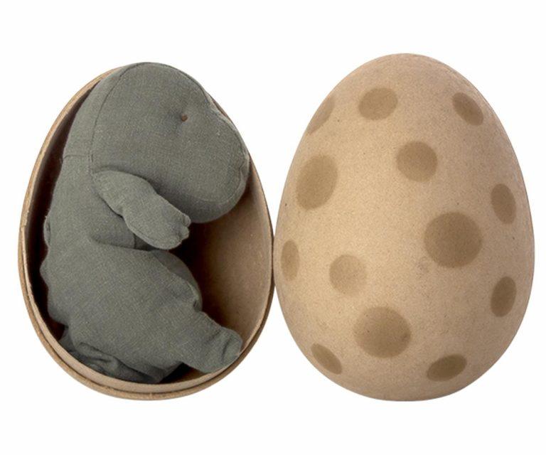 Maileg Gantosaurus in Egg Small Green