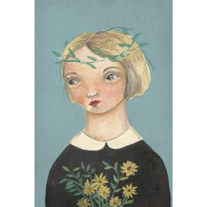 Michelle Pleasance Daisies Art Print