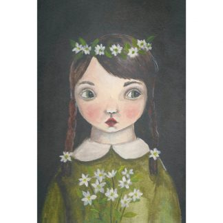 Michelle Pleasance Flower Child Art Print