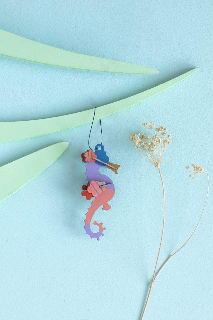 Studio Roof Ornaments Seahorse