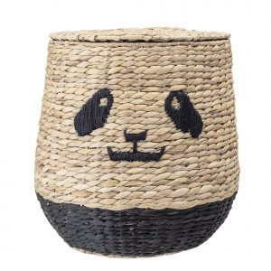 Bloomingville Mini Youl Basket w/Lid Nature