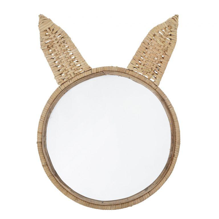 Bloomingville Mini Holga Bunny Mirror Cane