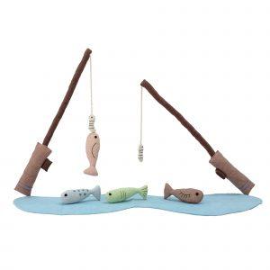 Bloomingville Mini Bjerre Fishing Set