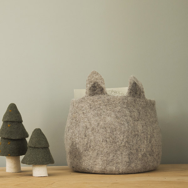 Muskhane Pasu Basket Foxy Light Stone