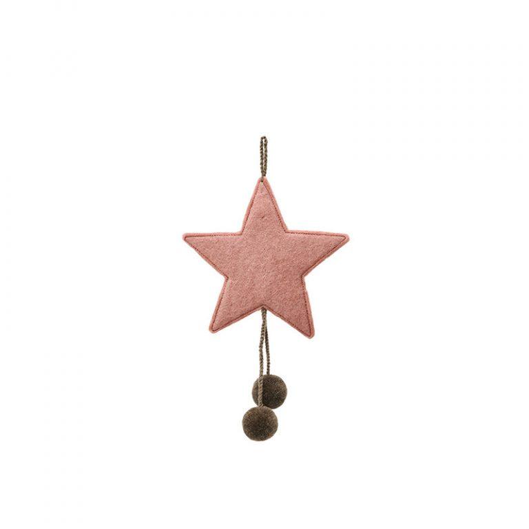 Muskhane Star Pompom Quartz Pink