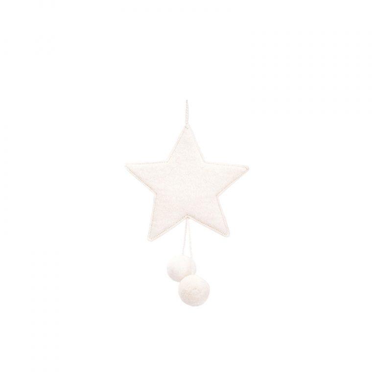 Muskhane Star Pompom Natural