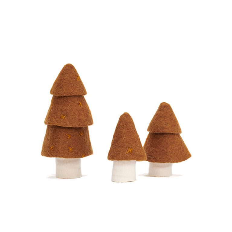 Muskhane Christmas Tree Mangrove Set of 3