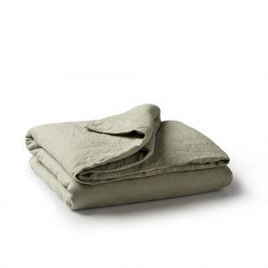 Minimrkt French Flax Linen Duvet Cover Putty