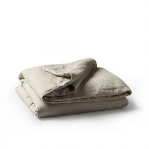 Minimrkt French Flax Linen Duvet Cover Smoke