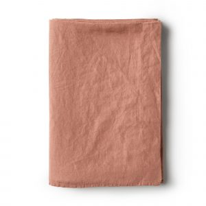Minimrkt French Flax Linen Flat Sheet Lotus