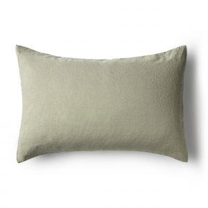 Minimrkt French Flax Linen Standard Pillowcase Putty