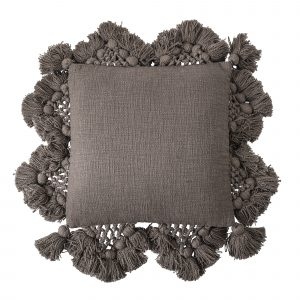 Bloomingville Boho Brown Cushion