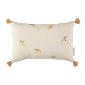 Nobodinoz Sublim Cushion Haiku Birds Natural