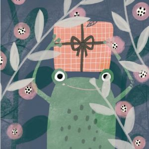 Jesses Mess Birthday Card Frog
