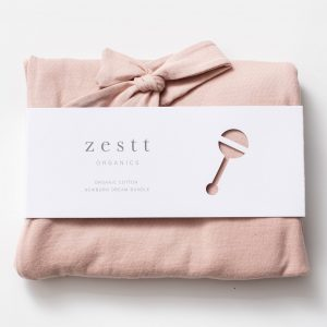 Zestt Organics Organic Cotton Newborn Dream Bundle Blush