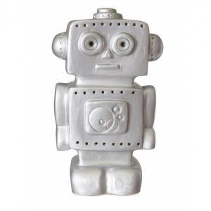Heico Lamp Robot Silver