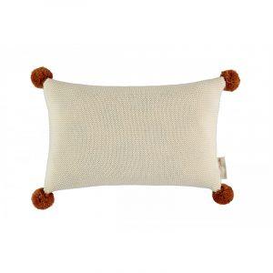 Nobodinoz So Natural Knitted Cushion Natural