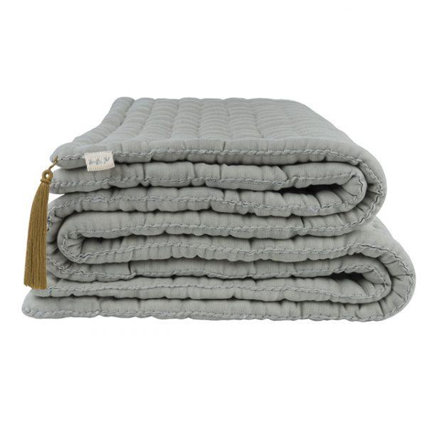 Numero 74 Tatami Quilt Silver Grey