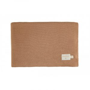 Nobodinoz So Natural Knitted Baby Blanket Biscuit