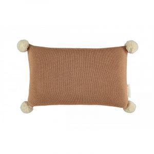 Nobodinoz So Natural Knitted Cushion Biscuit