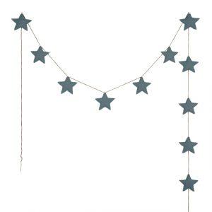 Numero 74 Mini Star Garland Ice Blue