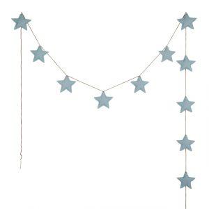 Numero 74 Mini Star Garland Sweet Blue